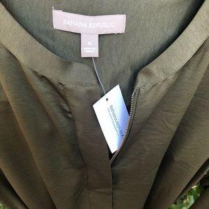 Bundle me! NWT Banana Republic zip front dress